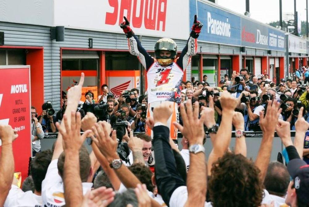 MotoGP: Παγκόσμιος πρωταθλητής ο Μάρκεθ