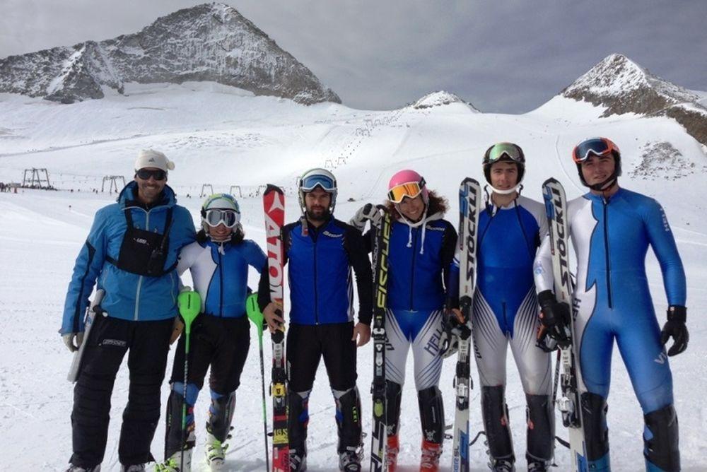 Χιονοδρομία: Αναχωρεί η Εθνική ομάδα για την Αυστρία