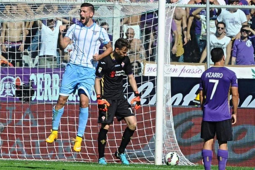 Σπουδαία νίκη (2-0) η Λάτσιο στη Φλωρεντία