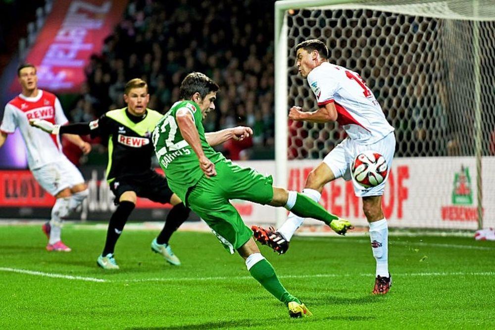 Παραπαίει η Βέρντερ, 1-0 από Κολωνία (video)