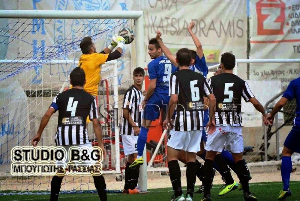 Ερμής Κιβερίου-Καλαμάτα 1-6: Τα γκολ του αγώνα (video)