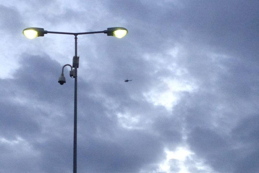 Ολυμπιακός – Παναθηναϊκός: Ελικόπτερο πάνω από το «Γ. Καραϊσκάκης» (video)