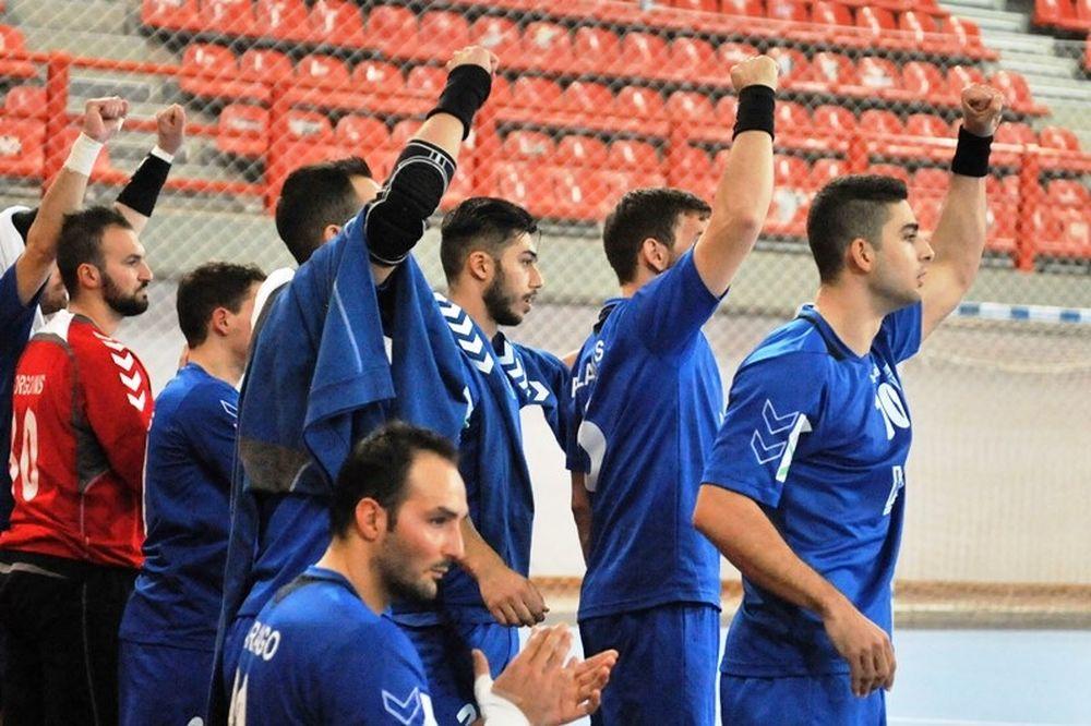 Χάντμπολ: Με το δεξί η Εθνική, 27-25 την Κύπρο (photos)