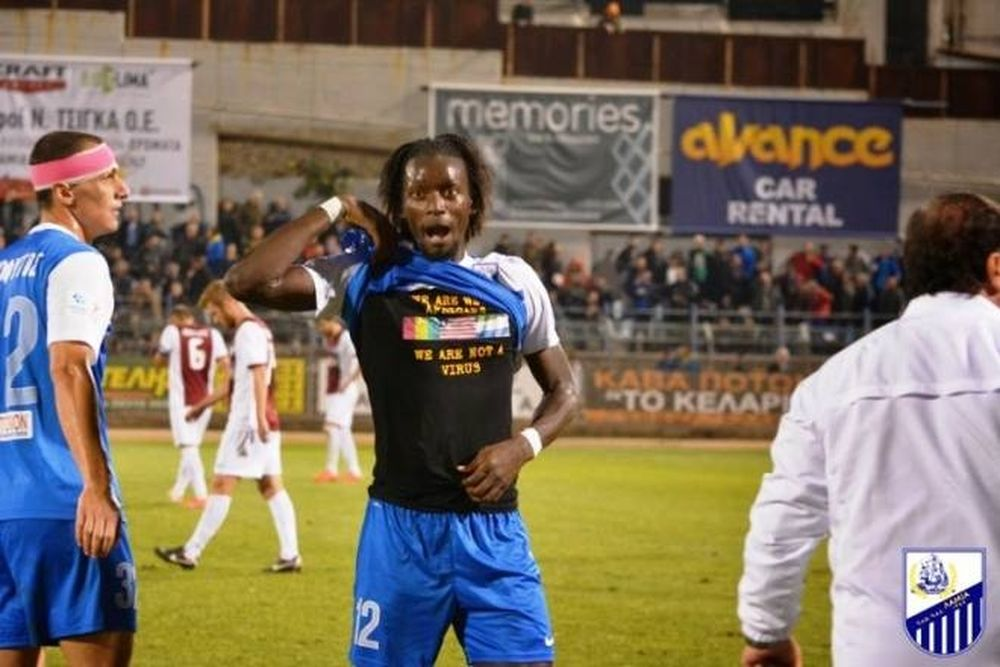 Football League: Σε απολογία ο Καμαρά για το μπλουζάκι