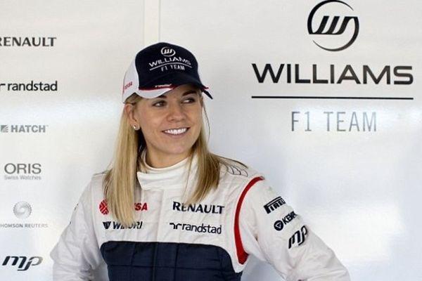 Φόρμουλα 1: Η πανέμορφη οδηγός της Ουίλιαμς (photos)