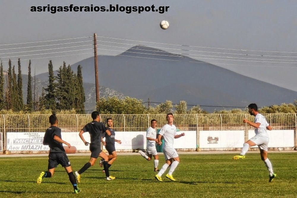 Ρήγας Φεραίος- Οικονόμος Τσαριτσάνης 3-0