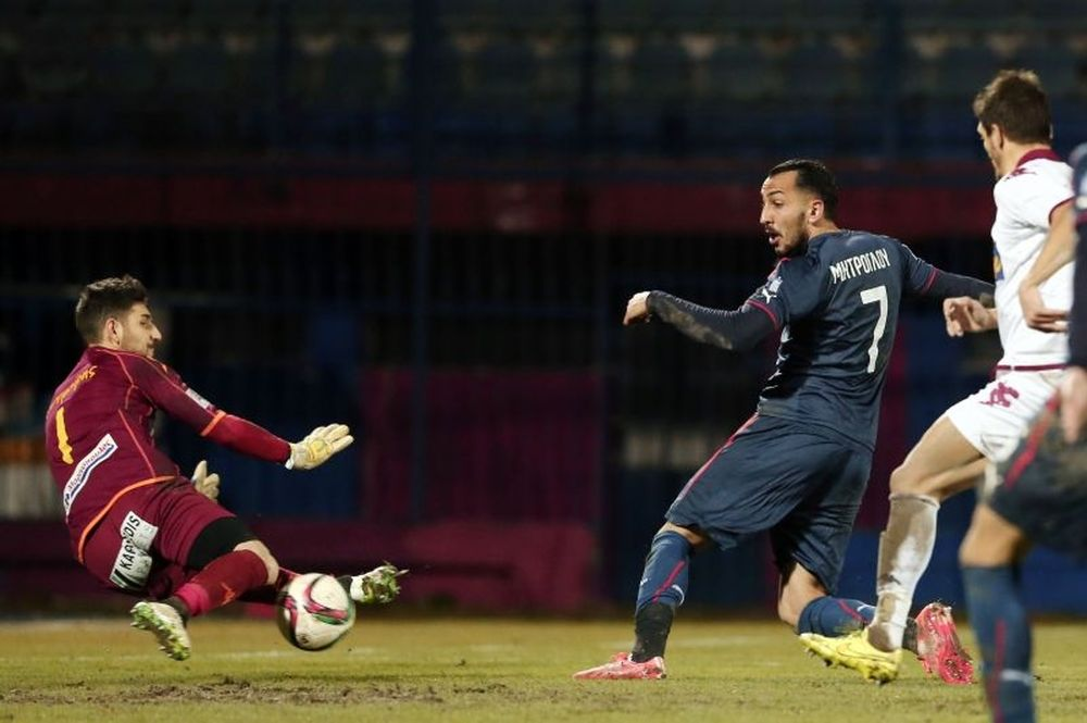 Βέροια – Ολυμπιακός 0-2: Τα γκολ του αγώνα (video)