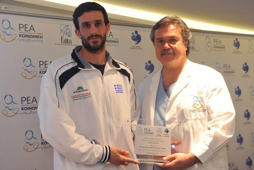 Εθνικές Πόλο: Εθελοντές Δότες Μυελού των Οστών (photos)