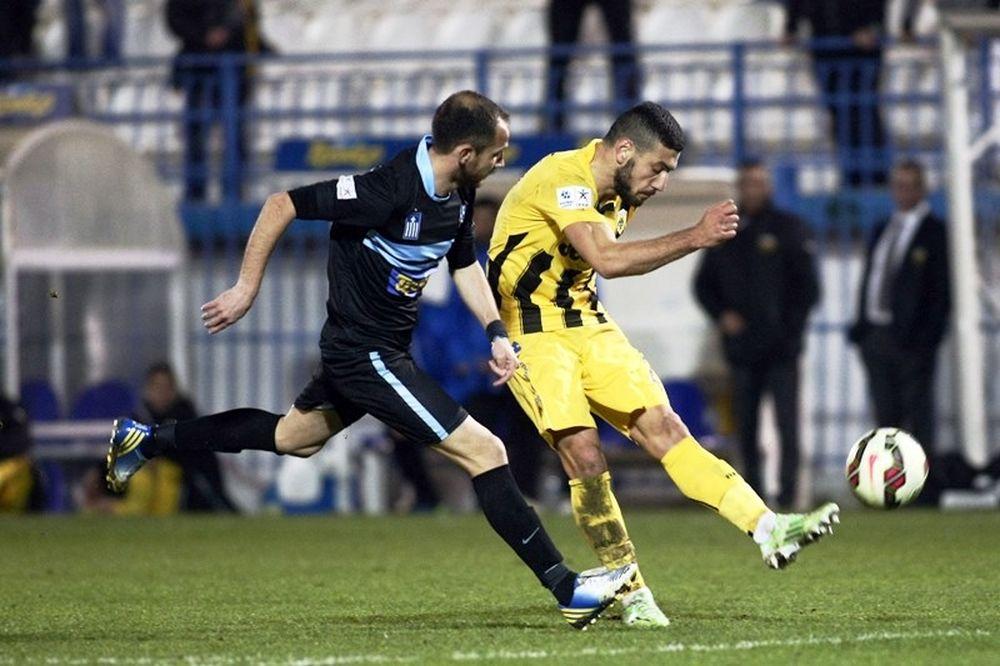 Απόλλων Σμύρνης – ΑΕΚ 1-1: Τα γκολ και οι φάσεις του αγώνα (video)