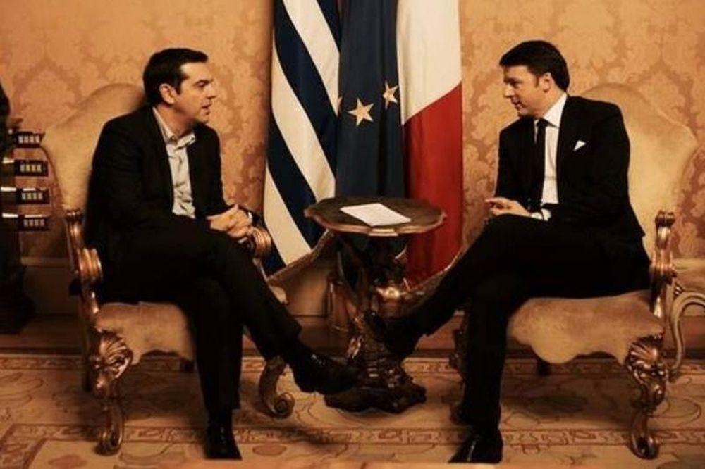 Κοινό μέτωπο Ελλάδας – Ιταλίας κατά της λιτότητας