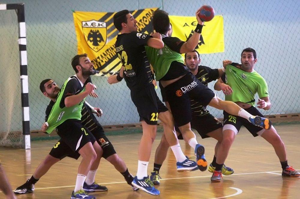 Κύπελλο Χάντμπολ: Αναβλήθηκε ο ημιτελικός ΑΕΚ-Διομήδης