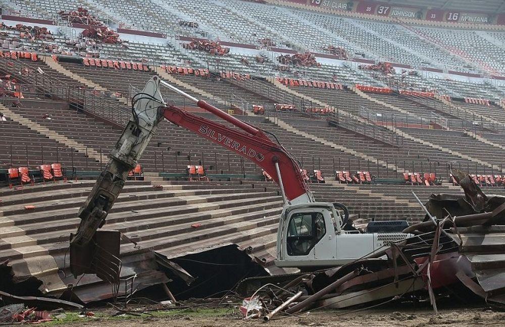 Παλιοσίδερα το γήπεδο των  «γιγάντων»  και των 49ers του Σαν Φρανσίσκο (video+photos)