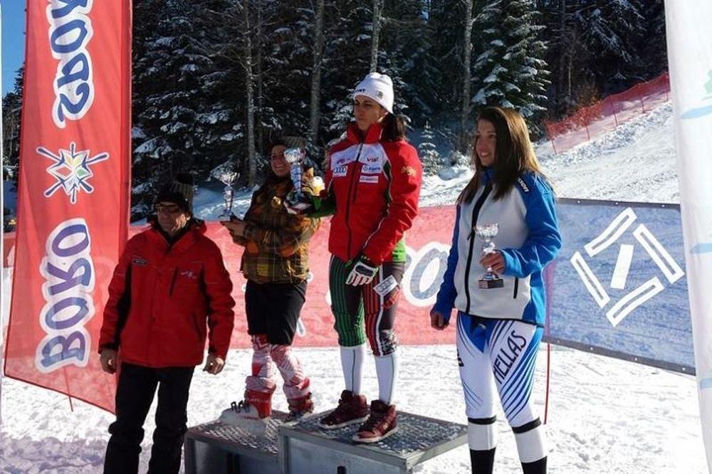 Χιονοδρομία: «Χάλκινη» η Σαμαρίνου στη Βουλγαρία