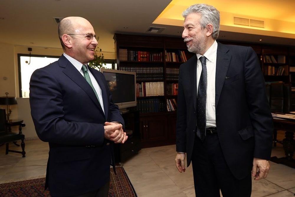 Αλαφούζος: «Να υπάρξει διαφάνεια στο ελληνικό ποδόσφαιρο»