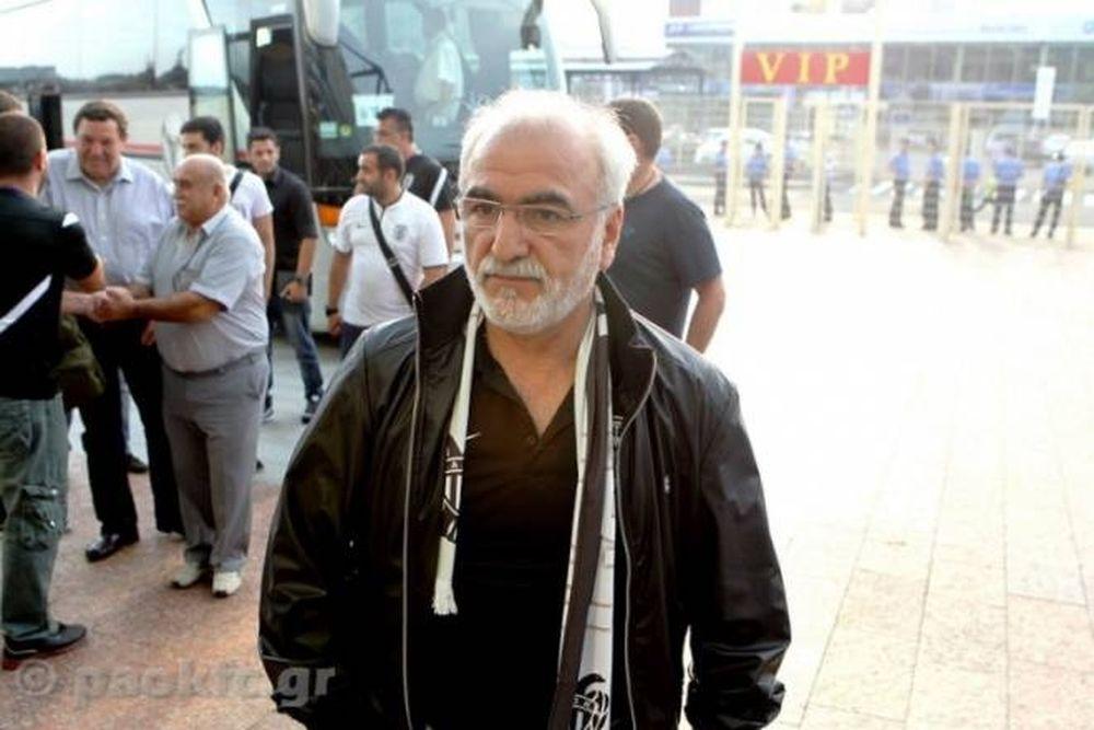 ΠΑΟΚ: Στην Τούμπα ο Σαββίδης (photo)