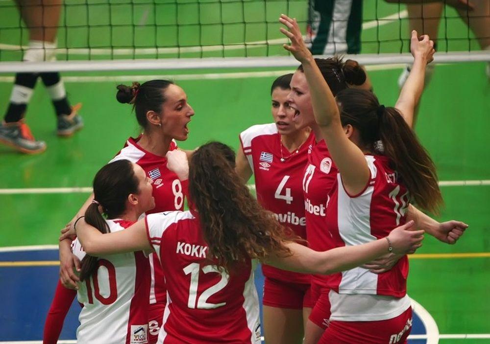 Α1 Βόλεϊ Γυναικών: Παναθηναϊκός - Ολυμπιακός 0-3 (photos)