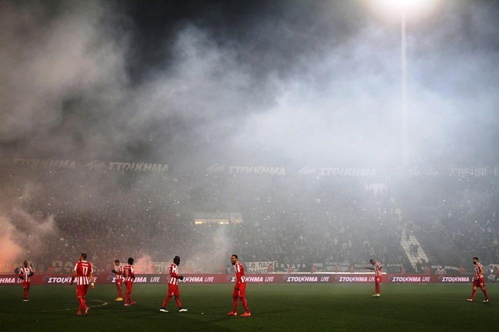 ΠΑΟΚ – Ολυμπιακός: Η «καυτή» Τούμπα (photos)