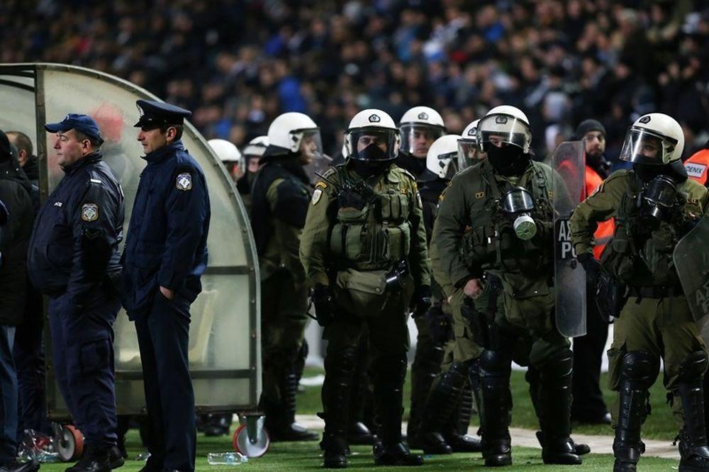 ΠΑΟΚ – Ολυμπιακός: Συλλήψεις μετά τα επεισόδια