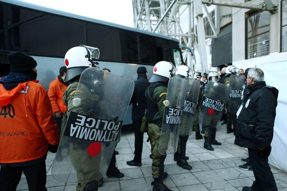 ΠΑΟΚ – Ολυμπιακός: Συλλήψεις και τραυματισμοί