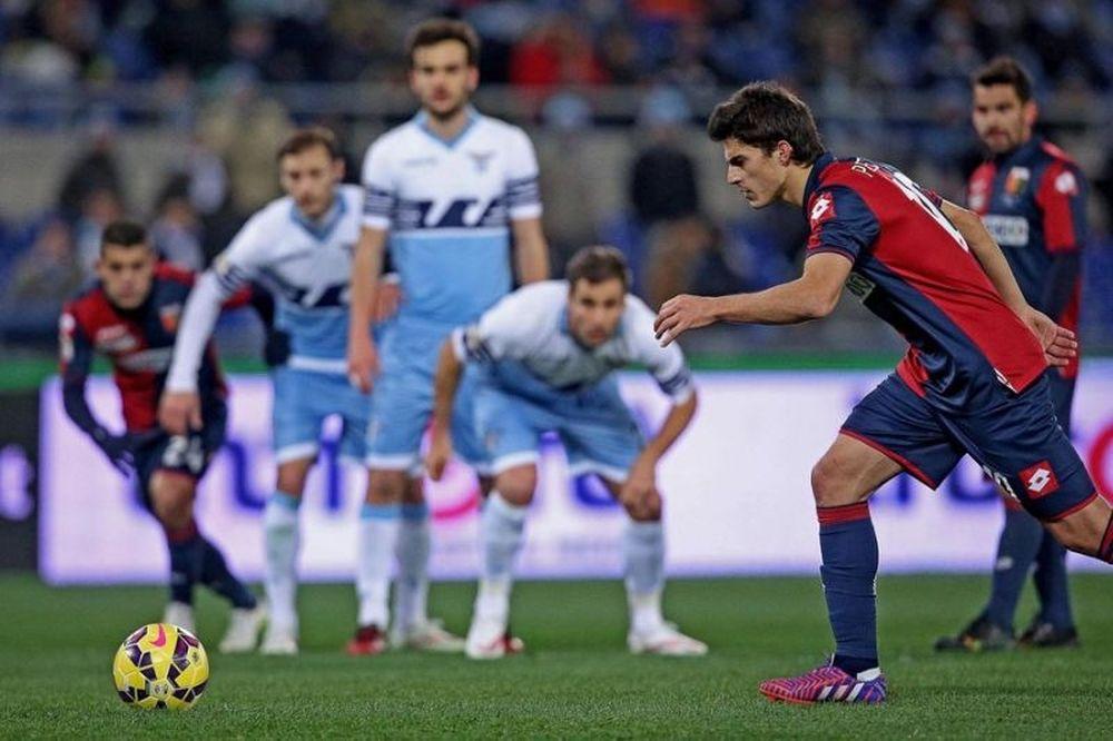 Λάτσιο - Τζένοα 0-1 (video)