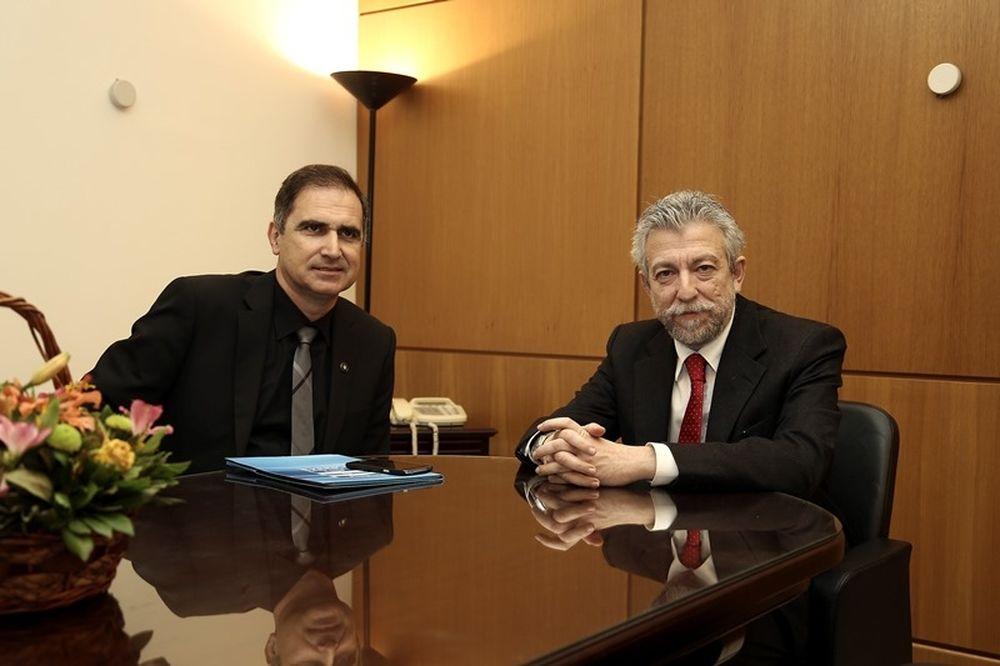 Μποροβήλος: «Μιλήσαμε με τον υφυπουργό για νέο νομοσχέδιο»(photos)