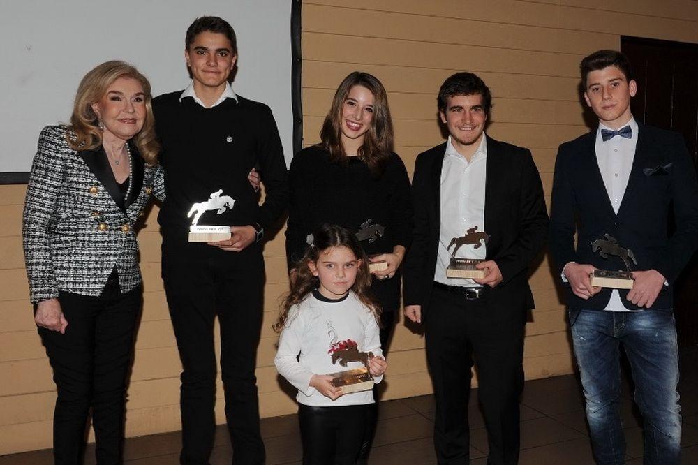 Ιππασία: Βραβεύθηκαν οι κορυφαίοι του 2014