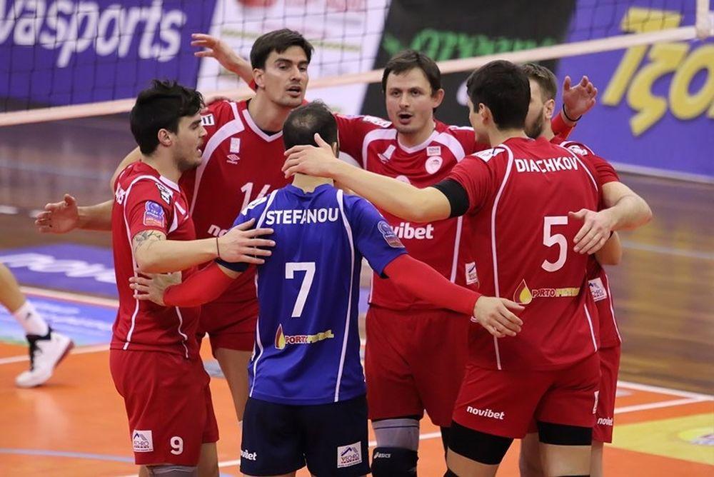 Volleyleague: Ξεχωρίζει το Ολυμπιακός - ΠΑΟΚ