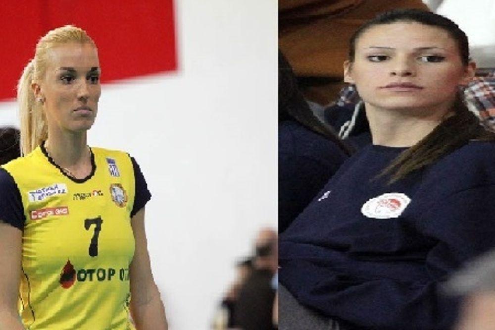 Α1 Βόλεϊ Γυναικών: MVP Ζούνιτς και Νέσοβιτς