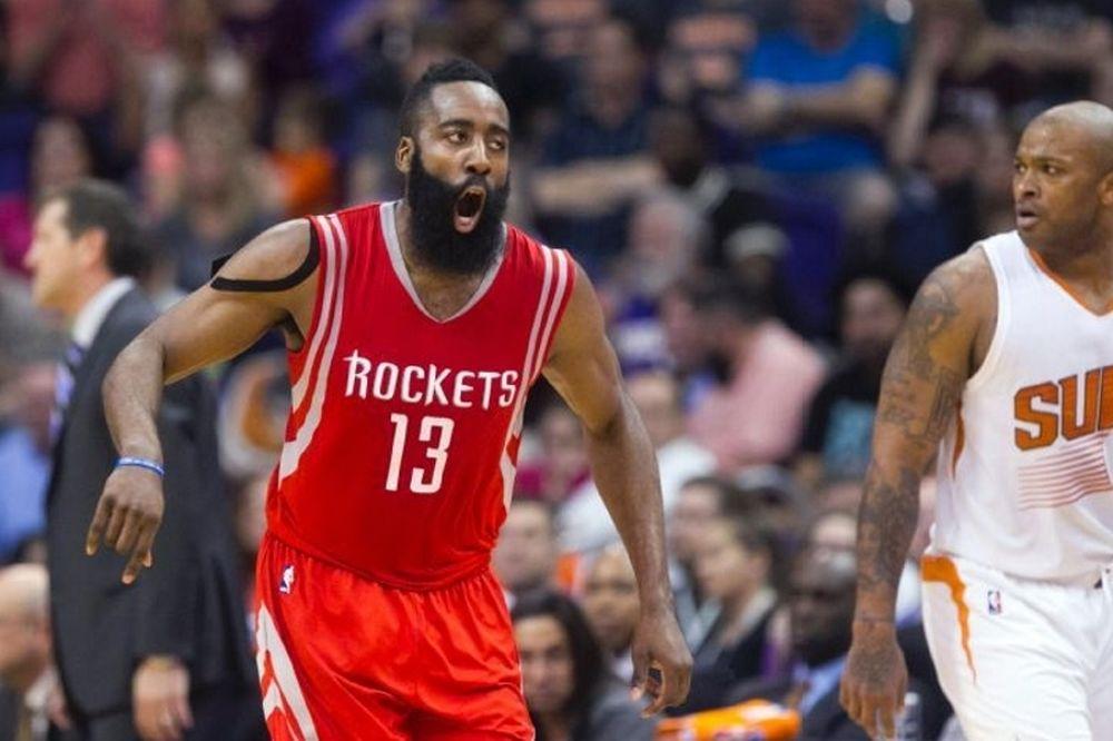 NBA: Τρελαίνει ο Τζέιμς Χάρντεν