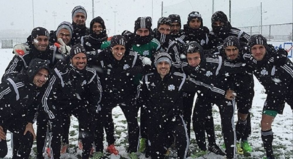 Παναθηναϊκός: Ευκαιρία για χιονοπόλεμο