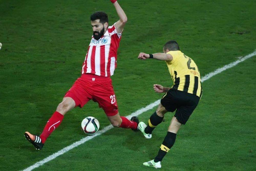 Ολυμπιακός – ΑΕΚ 1-1 (video+photos)
