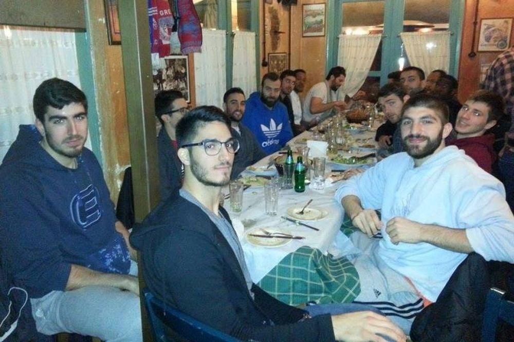 Τρίκαλα BC: Αποφορτίστηκαν με δείπνο (photos)