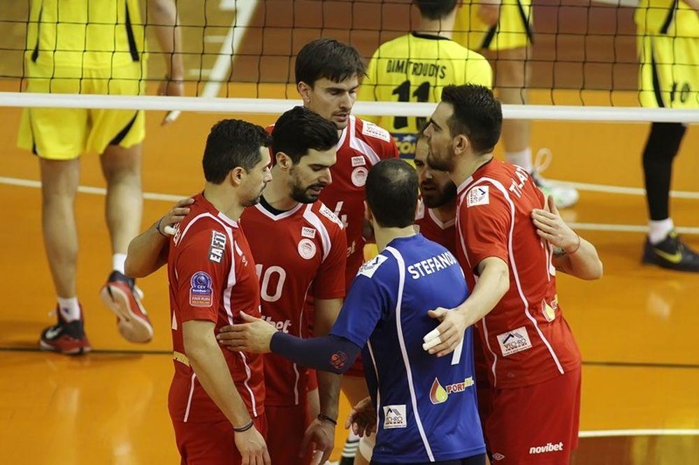 Volleyleague: ΑΕΚ - Ολυμπιακός 1-3 (photos)