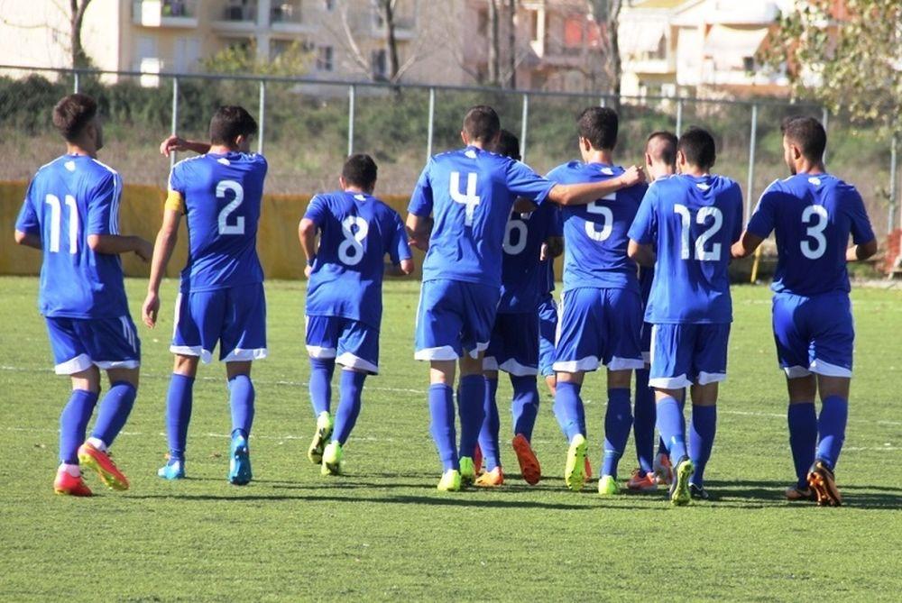 Κέρκυρα-Καλλονή 1-0 (Κ20)