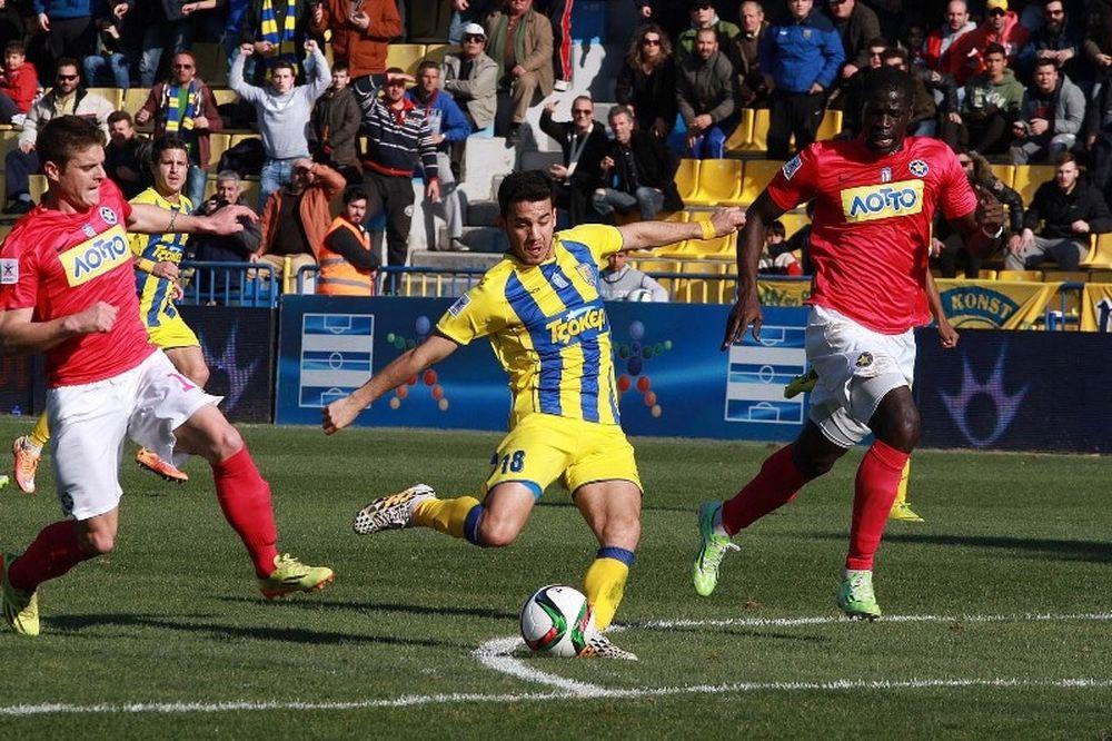 Παναιτωλικός - Αστέρας Τρίπολης 2-0: Τα γκολ του αγώνα (video)