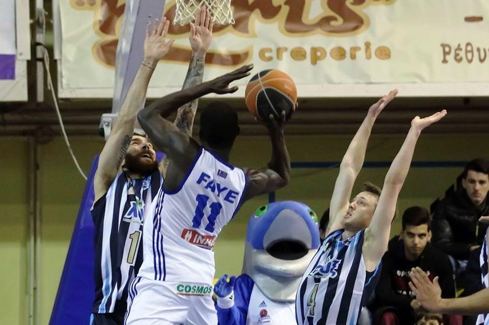 Basket League: Ρέθυμνο – Κόροιβος Αμαλιάδας 78-66 (παράταση)