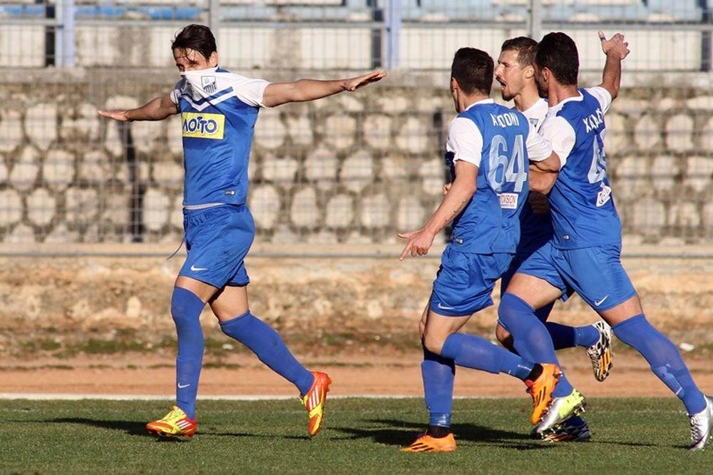 Λαμία-Εθνικός Σερρών 2-0