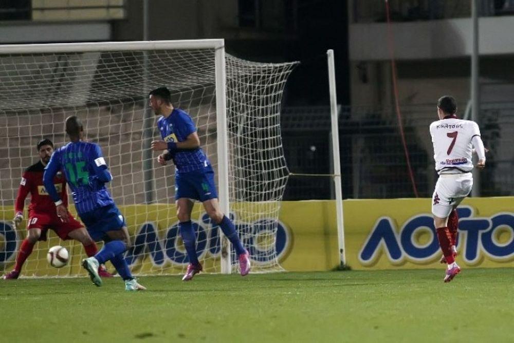 Λεβαδειακός - Βέροια 0-2: Τα γκολ και οι καλύτερες φάσεις (video)