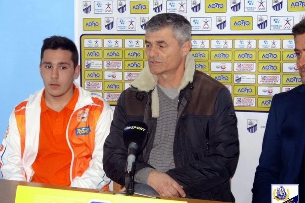 Κοκότοβιτς: «Δίκαιη η νίκη της Λαμίας»