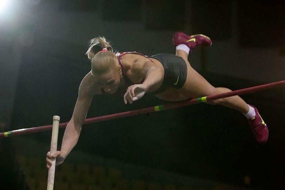 Πανελλήνιο Πρωτάθλημα Κλειστού Στίβου: «Πέταξε» η Κυριακοπούλου (video)
