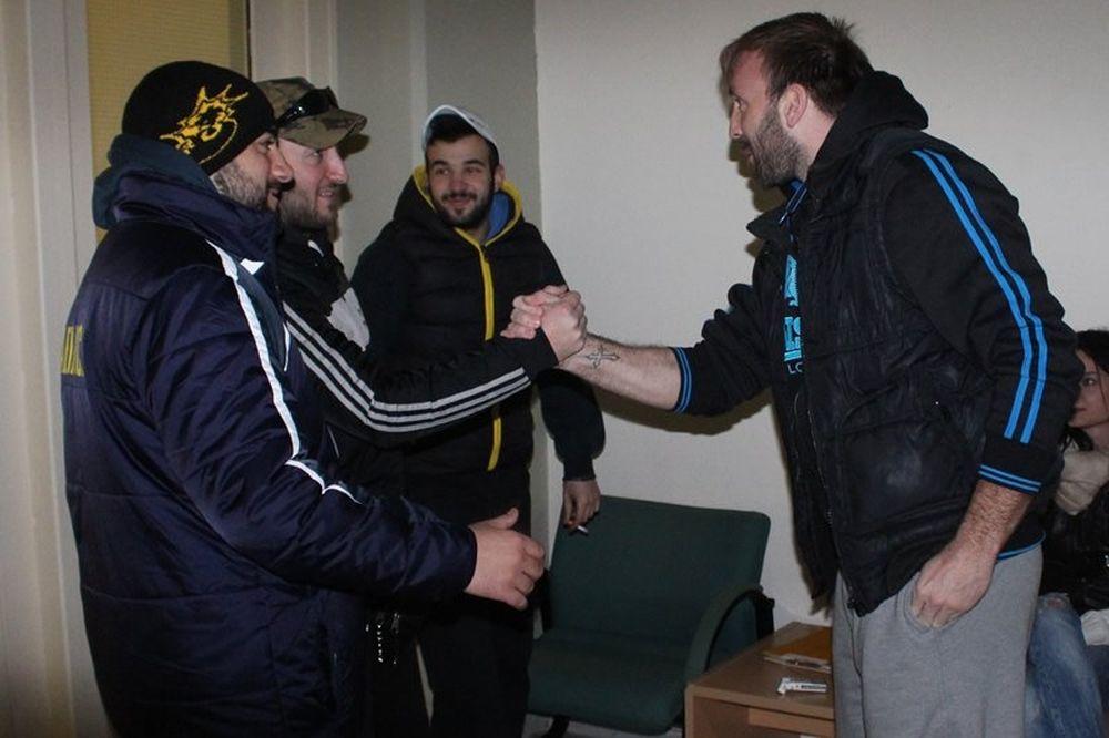 ΑΕΚ: Σύνθημα νίκης (photos)
