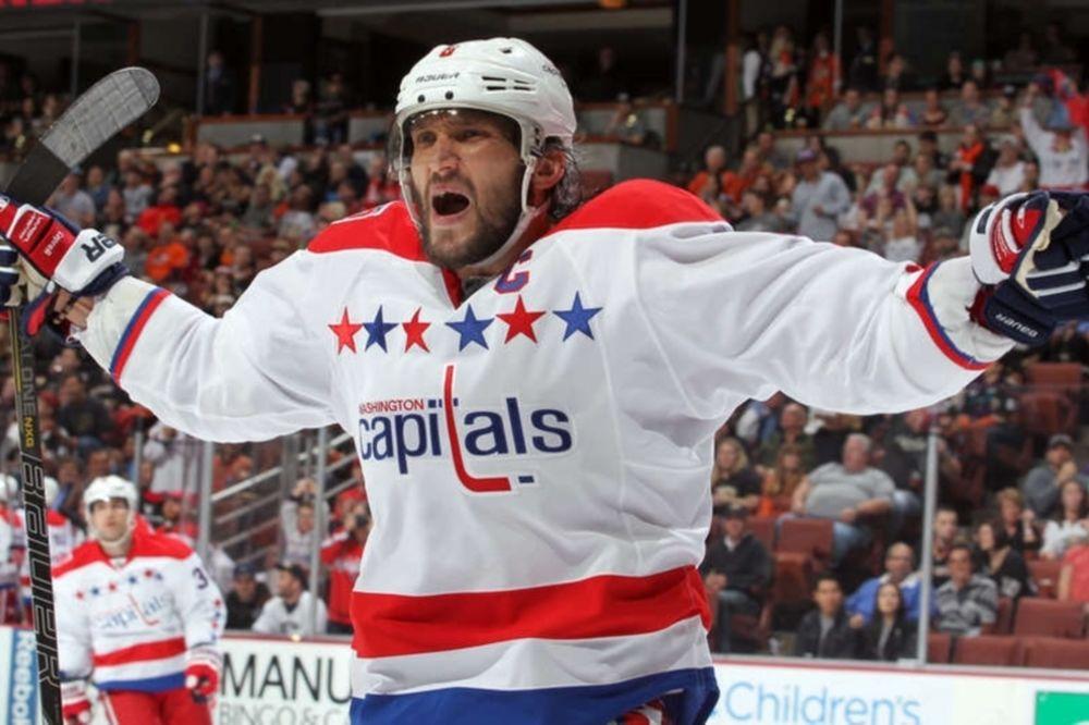 NHL: «Διπλός» Ovechkin στο Άναχαϊμ (videos)