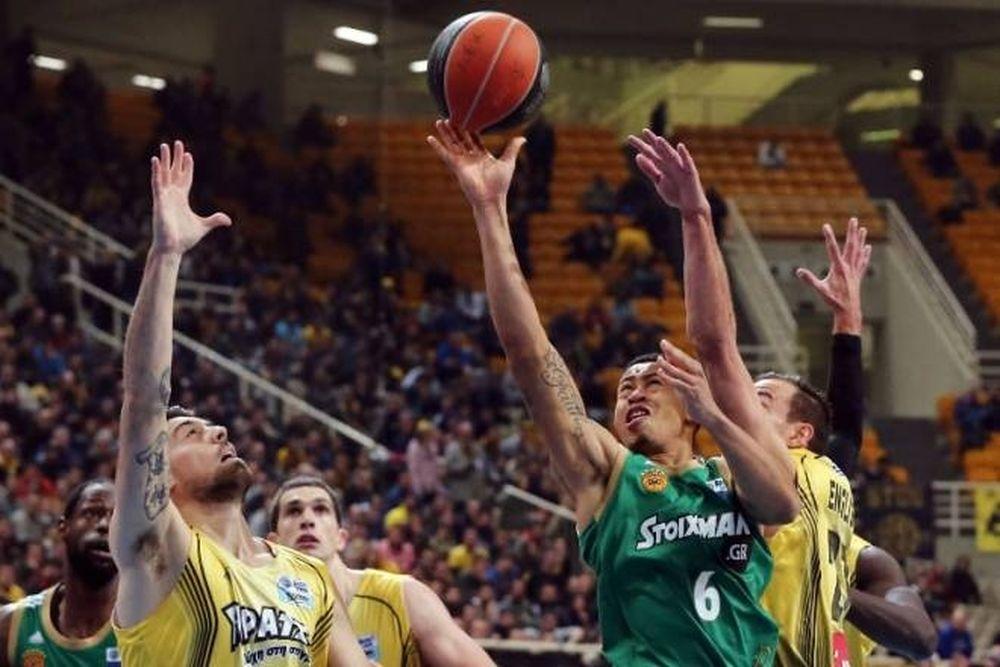 ΑΕΚ - Παναθηναϊκός 62-70 (photos)