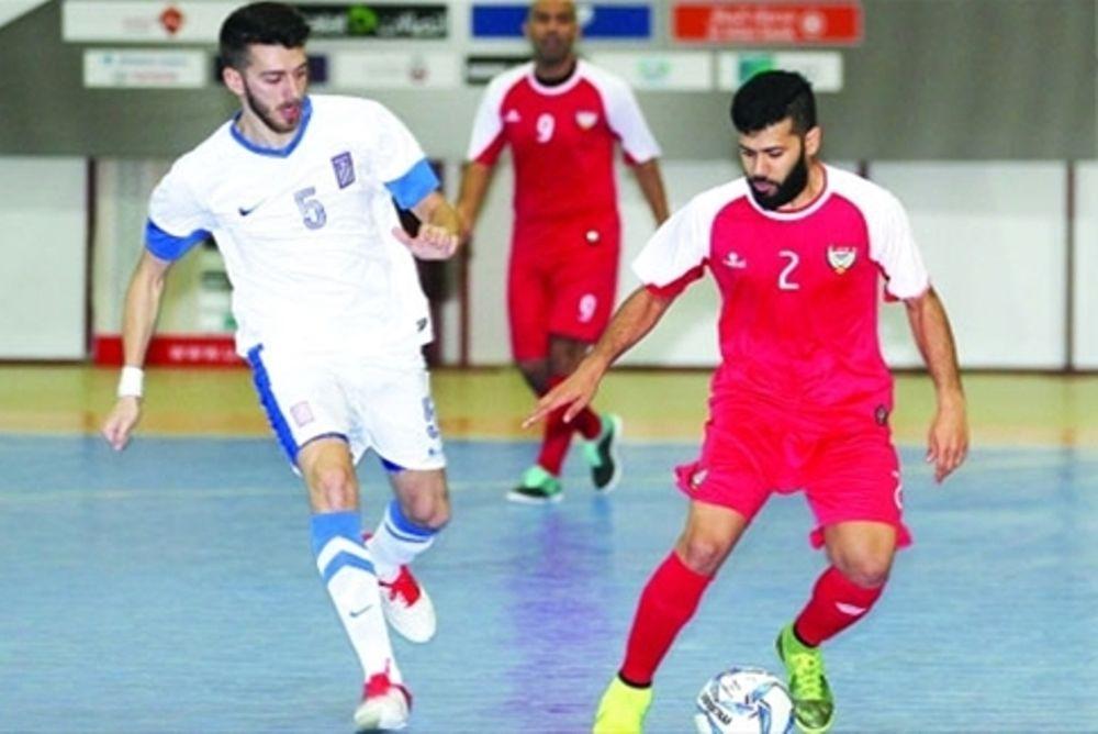 Εθνική Ποδοσφαίρου Ανδρών Σάλας: Θετικά δείγματα με ΗΑΕ στο Ντουμπάι