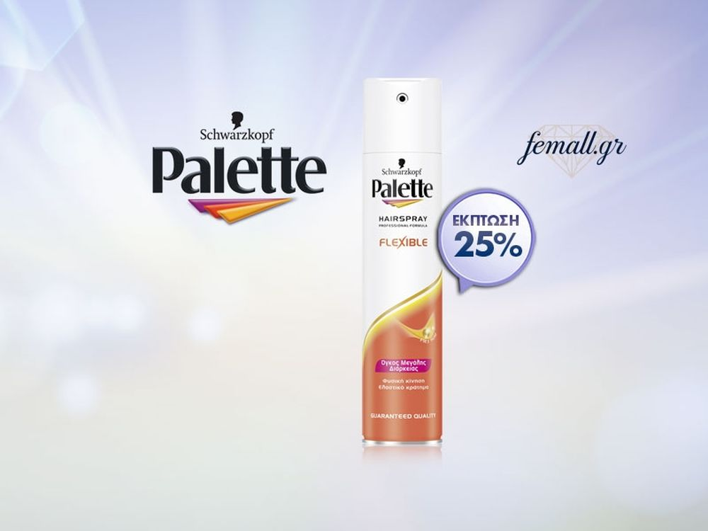 PALETTE HSPRAY FLEXIBLE VOLUME 250ml