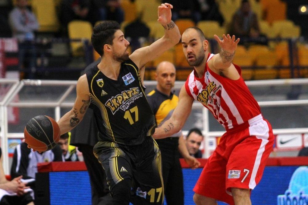 Basket League: Ολυμπιακός - ΑΕΚ 83-77 (photos)