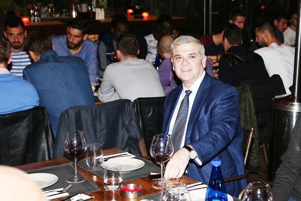 ΑΕΚ: Με Μελισσανίδη το δείπνο (photos)