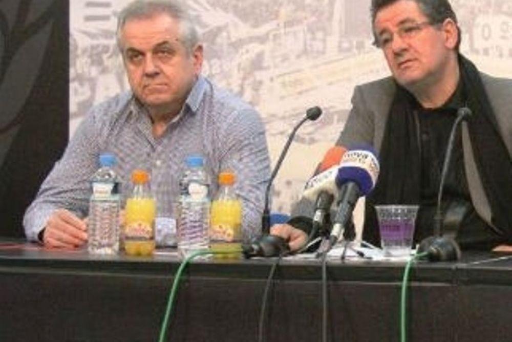 ΤΑΠ ΠΑΟΚ: «Δεν ασχολούμαστε με Ολυμπιακό»