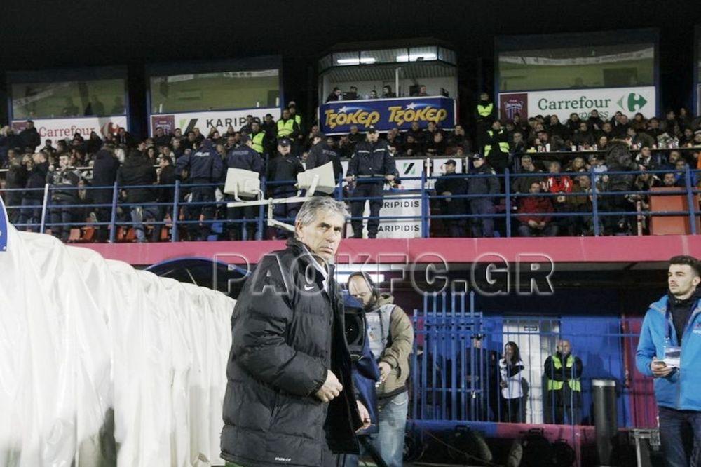 Αναστασιάδης: «Ο ΠΑΟΚ είναι μεγάλη ομάδα»