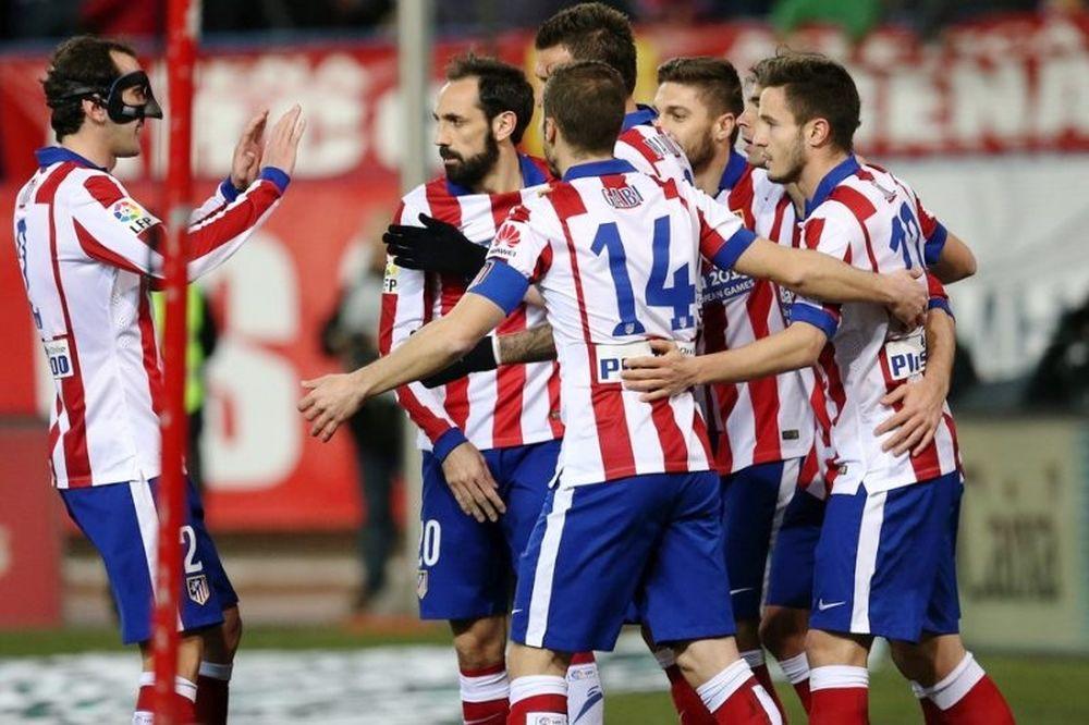 Ατλέτικο Μαδρίτης – Αλμερία 3-0 (video)